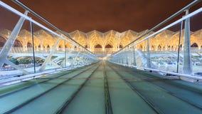 Oriente Station in Lisbon Stock Photo
