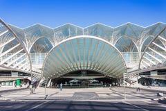 Oriente Station, Lisbon Royalty Free Stock Image