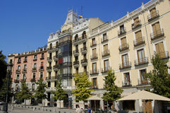 Oriente Suare in Madrid. Spain. Oriente Suare, Madrid. Typical building. Spain Royalty Free Stock Photos