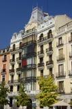 Oriente Suare in Madrid. Spanje stock fotografie