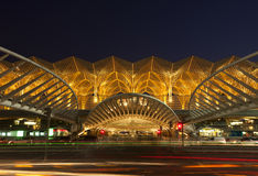 Oriente train station at Lisbon Royalty Free Stock Images