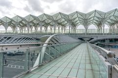 Oriente Train Station Royalty Free Stock Image