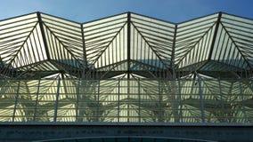 Oriente train station, Lisbon, Portugal Stock Image