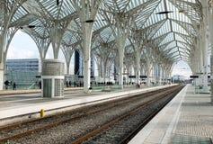 Oriente train station in Lisbon, Portugal Stock Image