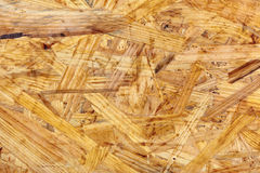 Oriented strand board Stock Photography