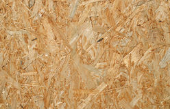Oriented strand board. Stock Photography