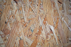 Oriented strand board background Stock Photos