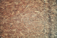 Oriented strand board background of texture. Royalty Free Stock Photography