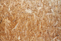 Oriented strand board background of texture. Stock Photos