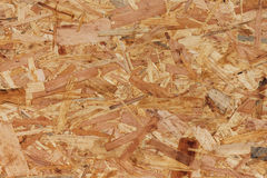 Oriented strand board Stock Image