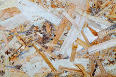Oriented strand board Royalty Free Stock Photography