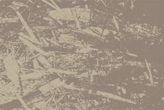 Oriented strand board for construction. OSB texture of sheet material for the background. Vector illustration EPS 10 Stock Photography