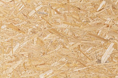 Oriented strand board. Royalty Free Stock Photos