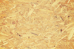 Oriented strand board. Royalty Free Stock Photo