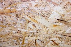 Abstract background surface of OSB Royalty Free Stock Photography