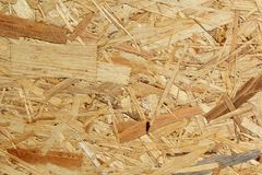 Oriented strand board osb background texture Stock Images