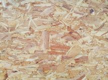 Oriented strand board OSB Plywood rough texture board wood Royalty Free Stock Images