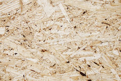 Oriented strand board, OSB texture Royalty Free Stock Images