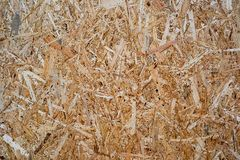 Oriented strand board. Texture oriented strand board is close stock photos