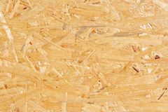 Oriented Strand Board Texture Royalty Free Stock Images