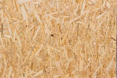 Oriented Strand Board texture. Oriented Strand Board OSB texture background royalty free stock images