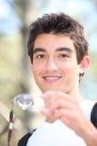 Подросток orienteering Стоковые Фото