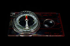 Orienteering Compass Stock Photography
