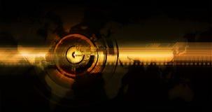 Orienter pour des technologies neuves du monde Image libre de droits