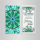 Orientering för tappningmalldesign för att gifta sig inbjudan Bröllopinbjudan, tacka dig att card, sparar datumkorten, baby showe Royaltyfri Fotografi