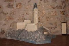 Orienteringen av fästningen castillo del fyr morro Den gammala fästningen cuba havana Arkivfoton