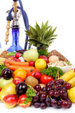 Orientf. Fresh Vegetables, Fruits and other foodstuffs. Shot in a studio Royalty Free Stock Photo