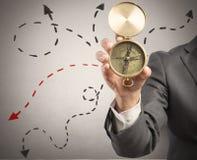 Orientierung im Geschäft Lizenzfreie Stockfotos