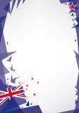 Origâmi do fundo de Nova Zelândia Imagens de Stock