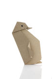 Origami企鹅 库存图片