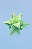 origami形状的星形 免版税库存照片