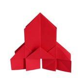 Origami教会 免版税库存照片