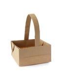 Origami篮子 库存图片