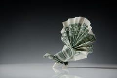 Origami纸可折叠艺术  免版税库存照片