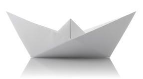 origami纸张船 图库摄影
