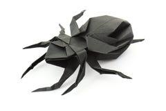 Origami蜘蛛 库存图片