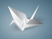 Origami起重机 免版税图库摄影