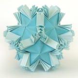 origami śnieg Zdjęcia Royalty Free