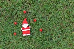 Origami Święty Mikołaj Zdjęcia Stock