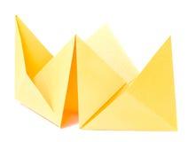 origami αριθμού βαρκών Στοκ Φωτογραφίες