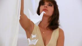Origami με το χέρι φιλμ μικρού μήκους