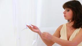 Origami με το χέρι απόθεμα βίντεο