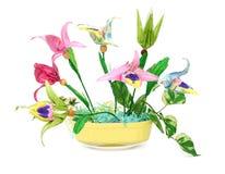 origami λουλουδιών Στοκ Εικόνες