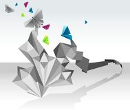 origami πεταλούδων Στοκ Εικόνες