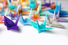 origami πουλιών Στοκ εικόνα με δικαίωμα ελεύθερης χρήσης