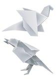 origami дракона птицы Стоковые Фото